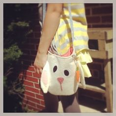 Items similar to Up cycled Children's rabbit purse on Etsy Alice In Wonderland Costume, Bucket Bag, Upcycle, Rabbit, Purses, Trending Outfits, Unique Jewelry, Handmade Gifts, Bags