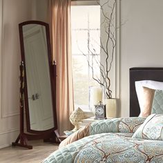 A full-length #mirror is a must-have for your dorm room. #back2campus #SEARSBACK2CAMPUS