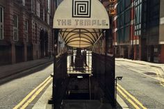 The Temple - Manchester Bar in an old public toilet