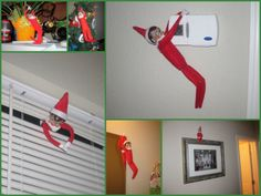 Elf on A Shelf several ideas