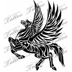 Marketplace Tattoo Pegasus #1365 | CreateMyTattoo.com
