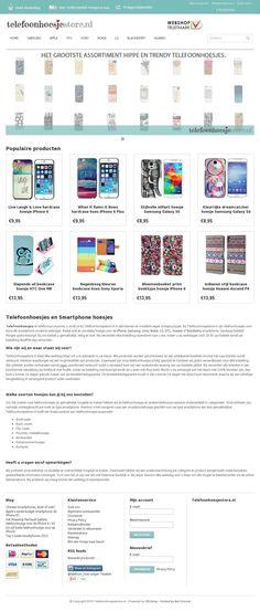 Leuke telefoonhoesjes vind je op www.telefoonhoesjestore.nl. Smartphone