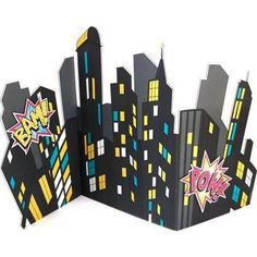 [Batman Birthday Party] Superhero Girl Party Supplies - City Scape Standup >>> Check this awesome product by going to the link at the image. (This is an affiliate link) Girl Superhero Party, Batman Party, Batgirl Party, Superhero City, Superhero Room, Batman Birthday, Girl Birthday, Avengers Birthday, Festa Pj Masks