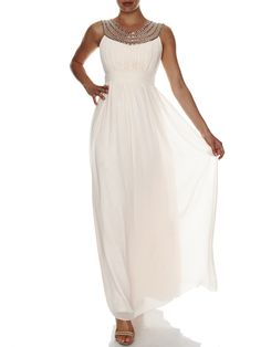 Grecian Beaded Maxi | Evening Dresses, Formal Dresses, Cocktail Dresses, Bridemaid dresses and Mother of the Bride at Will Hope Love