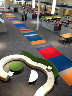 #Interface carpet tile installation at ASML