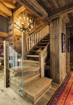 Caracter Innenarchitektur – Innendekoration Design … - Mountain Home Decor Chalet Chic, Chalet Style, Chalet Interior, Decor Interior Design, Renovation Design, Basement Flooring Options, Parts Of Stairs, Mountain Living, Rustic Elegance