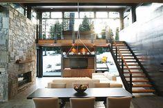 Marvelous Modern Mountain Home In Truckee, California is a Prefab Hybrid.