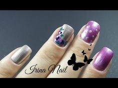 Tutorial unghii cu floricele mov - YouTube Flower Nails, Purple Flowers, My Nails, Nail Art, Artwork, Youtube, Channel, Museum, Facebook