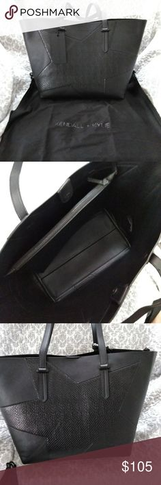 Kendall and Kylie black Izzy star purse New with tags black Kendall and Kylie purse Izzy star Kendall & Kylie Bags