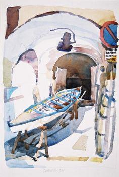Robert Leedy   WATERCOLOR    Italy