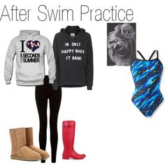 after swim practice outfits - Google Search