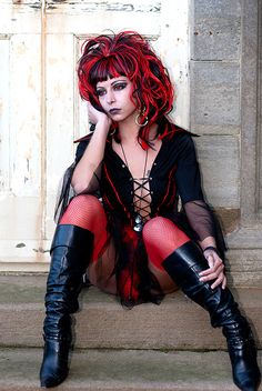 #Goth girl from Whitby Goth Festival