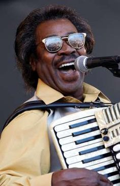 Buckwheat Zydeco performs at the† New Orleans Jazz and Heritage Festival in New Orleans in 2011.