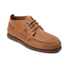 Shop for Mens Sperry Top-Sider Authentic Original Chukka Casual Shoe in Tan at Journeys Shoes. Shop today for the hottest brands in mens shoes and womens shoes at Journeys.com.A twist on the original boat shoe from Sperry, this chukka-style shoe features a stain resistant, water-resistant leather upper, rust-proof eyelets, EVA cup in heel and non-marking rubber outsole for the best traction on wet surfaces. Available exclusively at Journeys!