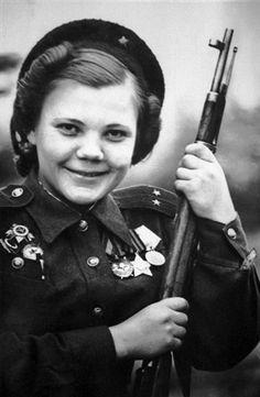 Nina Lobkovskaya killed 89 enemies making her first kill as a sniper in 1943.
