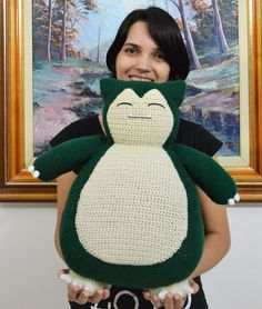 Hi, my dear amigurumi lovers! :) It's time for a new pattern! :D This time I've been working on a gift for my brother in law, who loves pokemon and asked me if I could do a Snorlax for …
