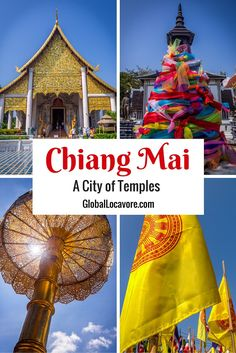 I discovered a Land of Temples when I spent a week visiting the gorgeous, ancient cities of Chiang Mai, Chiang Rai and Chiang Khong in Northern Thailand.