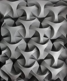 Øystein's mind - XXI IX MMVIII - tessellated origami