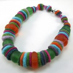 Resweater: Recycled wool jewelry! Pagano DesignWorks