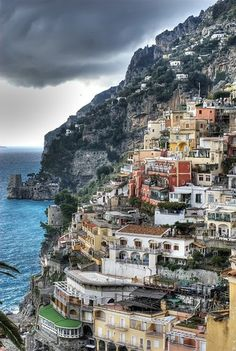 Positano on the Amalfi Coast, Campania, Italy Places Around The World, Oh The Places You'll Go, Places To Travel, Travel Destinations, Places To Visit, Around The Worlds, Travel Tips, Italy Vacation, Vacation Spots