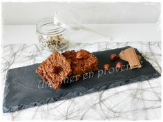 Brownie à la Pralinoise et aux noisettes