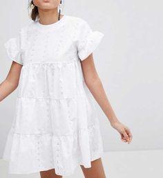 Sélection shopping fille et femme  robe broderie anglaise asos