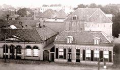 almelo, de haven rond 1900