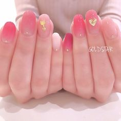 My style fingernailMy style fingernail Cute Nail Art, Cute Nails, Pretty Nails, Short Nail Designs, Cute Nail Designs, Heavenly Nails, Red Gel Nails, Korean Nails, Korean Nail Art