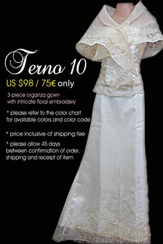a modern take to the classic Filipiniana a modern take to the classic Filipiniana Modern Filipiniana Gown, Filipiniana Wedding, Classy Wedding Dress, Wedding Dresses, Bridesmaid Dresses, Philippines Dress, Filipino Fashion, Bridal Cover Up, Mother Of Groom Dresses
