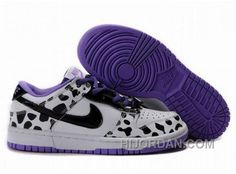 outlet store 08149 5503d Hot Womens Nike Dunk Sb Low Cut Shoes Black White Purple, Price 91.00 -  Air Jordan Shoes, Michael Jordan Shoes