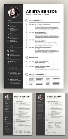 Resume / CV Template is a professional, Clean & modern resume template psd that will make you stand out from the crowd. Job Resume allows you to create your own Job Resume, Resume Tips, Resume Examples, Free Resume, Resume Layout, Student Resume, Resume Format Download, Best Resume Format, Resume Design Template