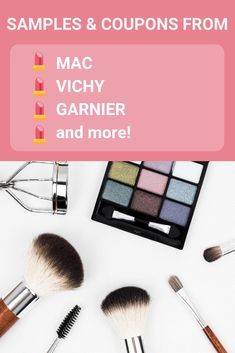 Free Makeup Samples, Beauty Coupons, and Contests from Top Brands Free Beauty Samples, Free Makeup Samples, Love Makeup, Beauty Makeup, Stuff For Free, Loreal, Maybelline, Free Gifts, Coupons
