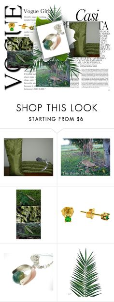 Green by therusticpelican on Polyvore featuring Nika, Whiteley, modern and contemporary