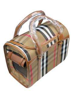Burberry Dog Carrier #travel