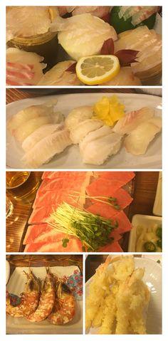 Fresh and Nice  seafood dinner