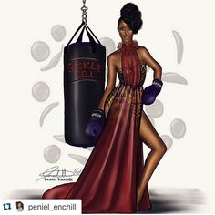 Is It Too Early To Predict Peniel Enchill As Fashion Illustrator Of The Year 1 Black Girls Rock, Black Girl Magic, Beauty In Art, Black Beauty, Black Artwork, Afro Art, Black Women Art, Art Women, African American Art