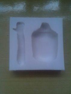 Como fazer molde de silicone -Parte I