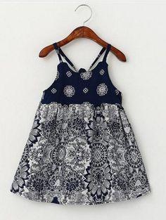 Girls Retro Summer Dress ♦Pinterest♦ @shammmmyz ☼