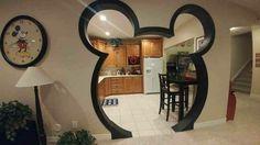 Mickey Mouse Head door!