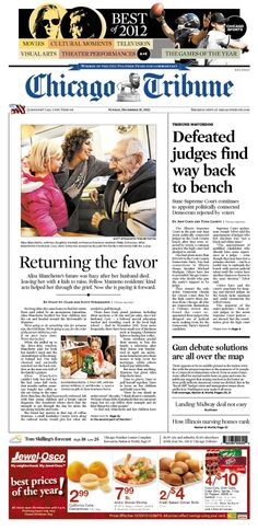 Dec. 23, 2012: Defeated judges find their way back to bench, plus the best of 2012.