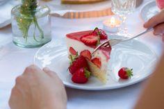 Erdbeer Champagner Torte | www.nom-nom.ch