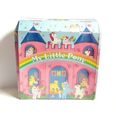 My Little Pony Collectors Case Accessories Storage & Carry Box with Dream Castle