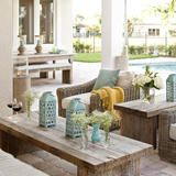 Krista Watterworth is a television personality, interior designer and founder of her own company –  Krista Watterworth Design Studio . One of HGTV's go-to designers, Krista shared photos from her Mediterranean-style house in Palm Beach Gardens, Fla. She completely designed her home in record time – just three months. Her goal was to create a family-centered home that's both fashionable and functional for her husband and two kids. It was important to her to create a space that worked for her…