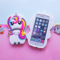 3D Rainbow Unicorn Silicone Phone Case Cover – UniMoods https://unimoods.com/collections/phone-cases/products/3d-rainbow-unicorn-silicone-phone-case-cover