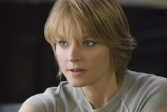 "Jodie Foster as Erica in ""The Brave One"" // that crewneck! That haircut!!"