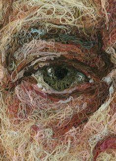 nihil-est:    Thread art by Comme Des Garcons
