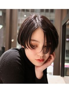 キーノ(kino) ジェンダーレスショートボブ Fringe Hairstyles, Short Hairstyles For Women, Undercut Hairstyles, Girl Short Hair, Short Hair Cuts, Short Haircut Styles, Long Hair Styles, Hair Inspo, Hair Inspiration