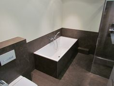 Inloopdouche Met Inbouwkraan : Donkere badkamer met inloopdouche en sauna badkamers pinterest