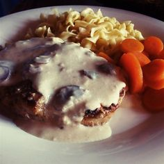 Sour Cream Pork Chops Recipe - These are the most tender and succulent pork chops you've ever had. My fiance absolutely loves them! Serve over noodles or rice. Crock Pot Slow Cooker, Crock Pot Cooking, Slow Cooker Recipes, Cooking Recipes, Crockpot Recipes, Ham Recipes, Family Recipes, Rice Recipes, Paleo Recipes