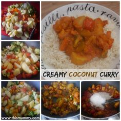 Creamy Coconut Curry :: This Mummy... @thismummy